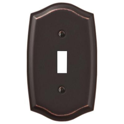 Sonoma 1 Toggle Wall Plate - Aged Bronze