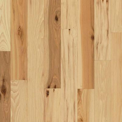 Rustic Hickory Natural 3/4 in. Thick x 3-1/4 in. Wide x Varying Length Solid Hardwood Flooring (22 sq. ft. / case)