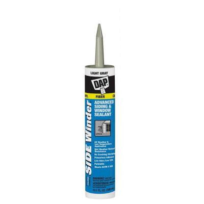 Sidewinder 10.1 oz. Light Gray Advanced Polymer Siding and Window Sealant (12-Pack)