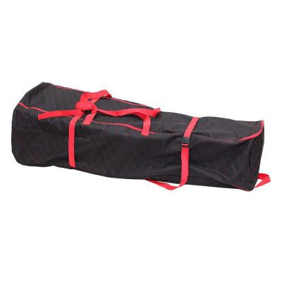 Titan Commercial Grade Black/Red Rolling Artificial Tree Storage Bag for Trees up to 7.5 ft.