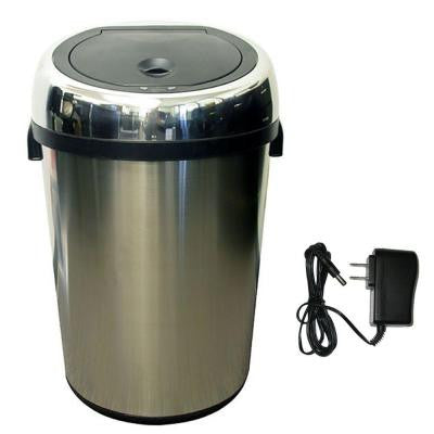 23 Gal. Stainless Steel Motion Sensing Touchless Trash Can