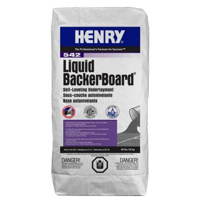 542 Liquid Backer Board 40 lbs. Self-leveling Underlayment
