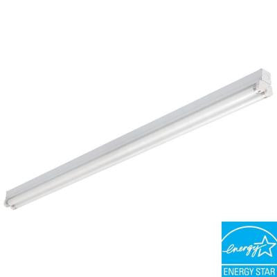 2-Light White Fluorescent Lighting Strip
