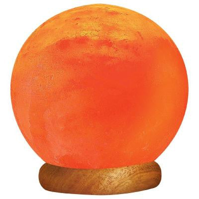 6.5 in. Ionic Crystal Sun Globe Salt Lamp (8-10lbs)
