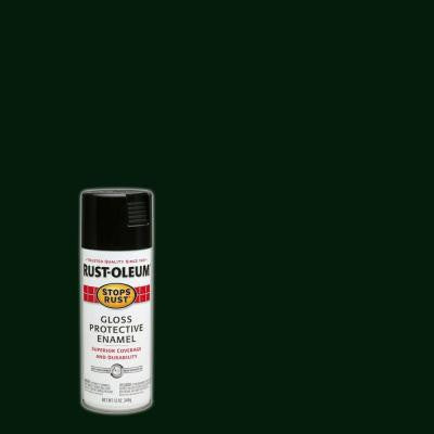 12 oz. Gloss Charleston Green Protective Enamel Spray Paint (6-Pack)