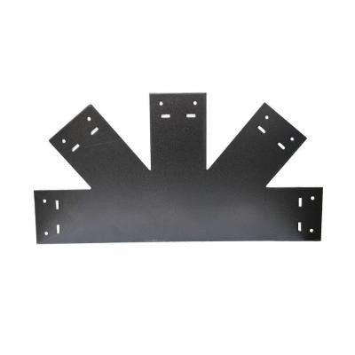 13-1/2 in. Galvanized Steel Truss Base Fan Wood Connector Plate