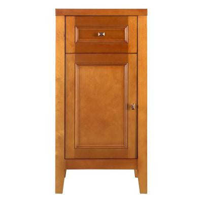 Exhibit 17-1/2 in. W x 35 in. H Floor Cabinet in Rich Cinnamon