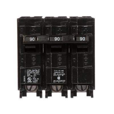 90 Amp 3-Pole Type QP Plug-In Circuit Breaker