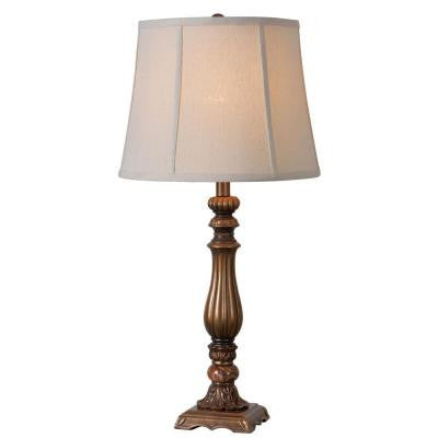 Turner 30 in. Gold Table Lamp