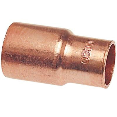 1-1/2 in. x 1 in. Copper Pressure FTG x C Reducer Coupling