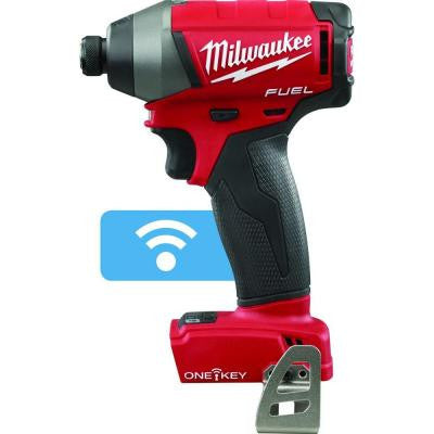 M18 FUEL with ONE KEY 18-Volt Lithium-Ion Brushless 1/4 in. Cordless Hex Impact Driver (Tool-Only)