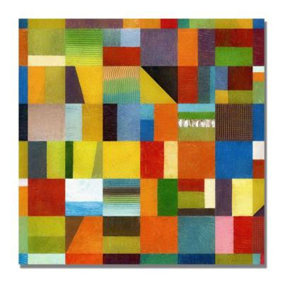 24 in. x 24 in. Eye Candy 64 Canvas Art