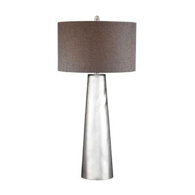Orly 37.5 in. Mercury Glass Table Lamp with Shade