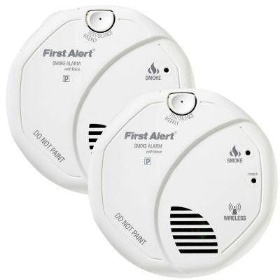 Onelink Wireless Interconnect Smoke Detector with DVD (2-Pack)