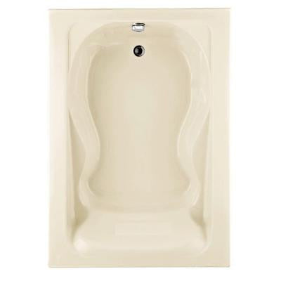 Cadet 5 ft. x 42 in. Reversible Drain Soaking Tub in Linen