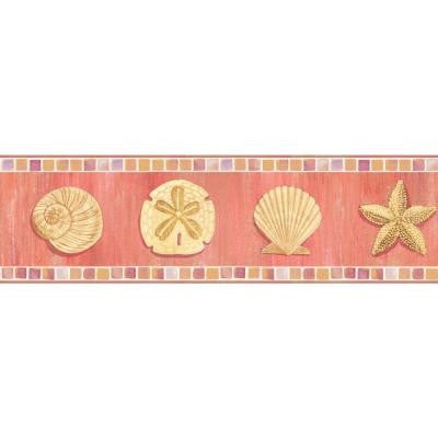 6 in. Ocean Mosaic Border