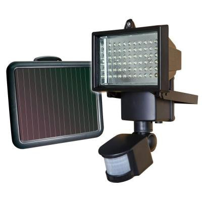 Solar Motion Security Light with 60 LED