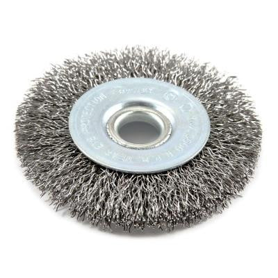 3 in. x 1/2 in. and 5/8-in. Arbor Coarse Crimped Wire Wheel Brush