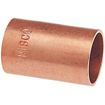 MCP601 1/2 in. Copper Pressure C x C Coupling without Stop (100-Pack)