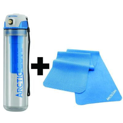 Cordless 16 oz. Personal Misting Bottle and Cooling Bandana