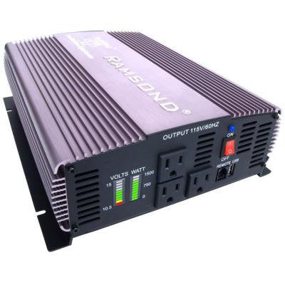 Sunray 1500 Pure Sine Wave Intelligent DC to AC Inverter (12-Volt)