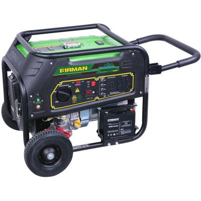 9,000-Watt Dual Fuel Generator with Electric Start and Runs on LPG or Regular Gasoline