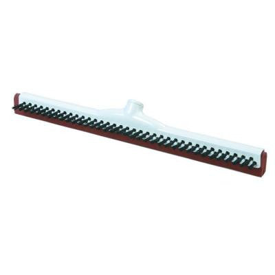 18 in. Double Foam Plastic Frame Floor Squeegee with Scrubbing Bristles (Case of 10)