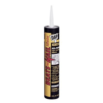 Beats the Nail 29 oz. All-Purpose VOC Compliant Construction Adhesive (12-Pack)