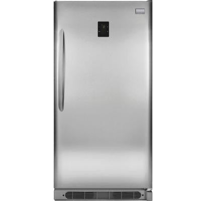 Gallery 17.0 cu. ft. Frost Free Upright Freezer Convertible to Refrigerator in Stainless Steel, ENERGY STAR
