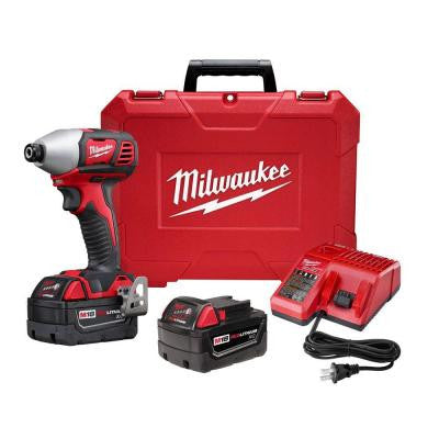 M18 18-Volt Lithium-Ion Cordless 2-Speed Impact Driver XC Kit