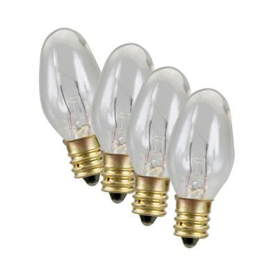 4-Watt Replacement Night Light Bulb (4-Pack)