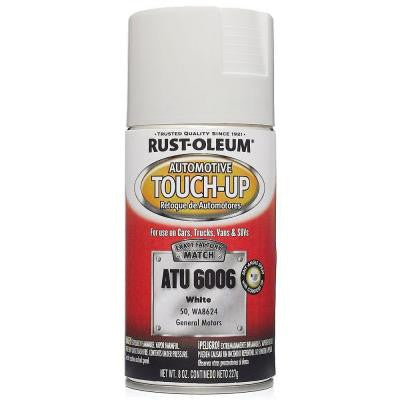 8 oz. White Auto Touch-Up Spray (Case of 6)