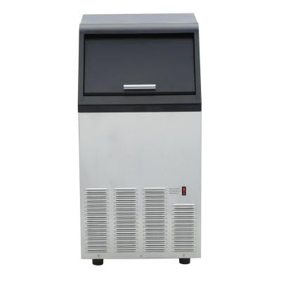 65 lb. Commercial Ice Maker in Stainless Steel