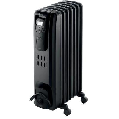 Safeheat 1500-Watt Digital Oil-Filled Radiant Portable Heater - Black