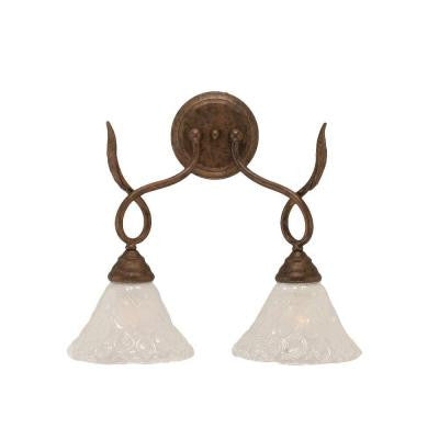 Concord 2-Light Bronze Incandescent Wall Sconce