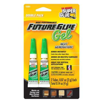 .07 oz. Future Glue Gel, (2) .07 oz. Tubes per card, Case pack of 12 cards (12-Pack)