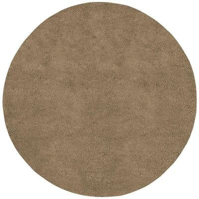 Cambridge Tan 8 ft. Round Area Rug