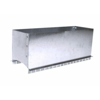 12 in. x 4 in. Register Box Saddle