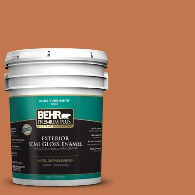5-gal. #240D-6 Chivalry Copper Semi-Gloss Enamel Exterior Paint
