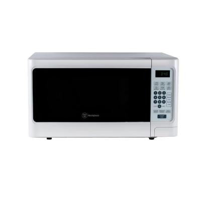1.1 cu. ft. 1000-Watt Countertop Microwave in White