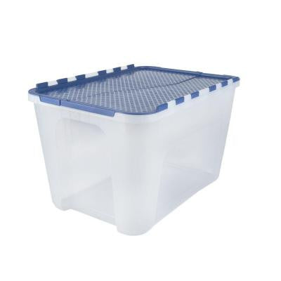 12-Gal. Flip-Top Storage Tote (4-Pack)
