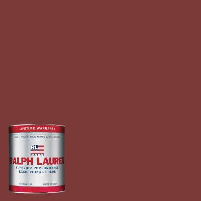 1-qt. Hunting Coat Red Flat Interior Paint