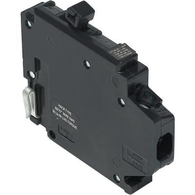 20-Amp Single-Pole Type A Left-Clip UBI Replacement Circuit Breaker