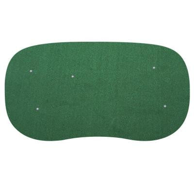 15 ft. x 28 ft. 5-Hole Indoor/Outdoor Nylon Practice Putting Green