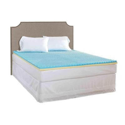 Full Size 2 in. Gel Mattress Topper