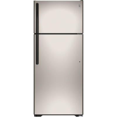 17.5 cu. ft. Top Freezer Refrigerator in Silver