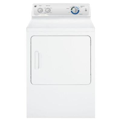 6.8 cu. ft. Electric Dryer in White