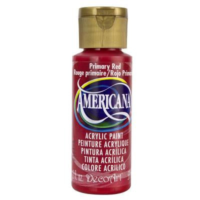 Americana 2 oz. Primary Red Acrylic Paint