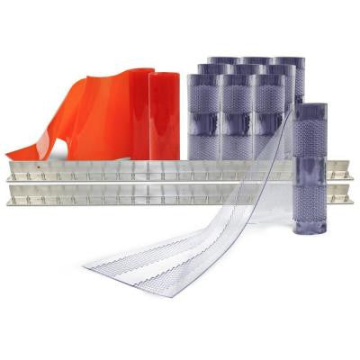 8 ft. x 10 ft. PVC Strip Door Kit