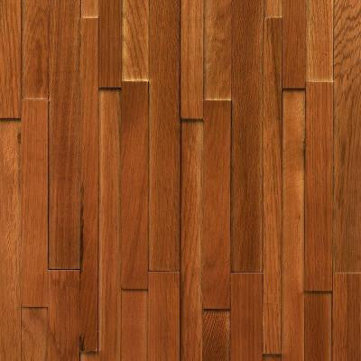 Deco Strips Saddle 3/8 in. x 7-3/4 in. Wide x 47-1/4 in. Length Engineered Hardwood Wall Strips (10.334 sq. ft. / case)